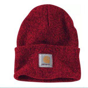 Carhartt Accessories - Carhartt A18 Watch Hat Beanie Red Navy